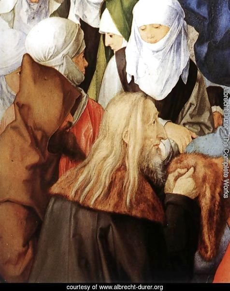 The Adoration of the Trinity (detail) 2