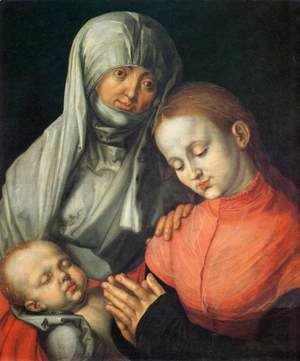 Albrecht Durer - St Anne with the Virgin and Child