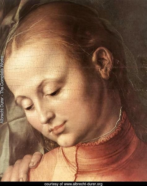 St Anne with the Virgin and Child (detail) 2