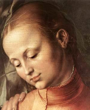Albrecht Durer - St Anne with the Virgin and Child (detail) 2