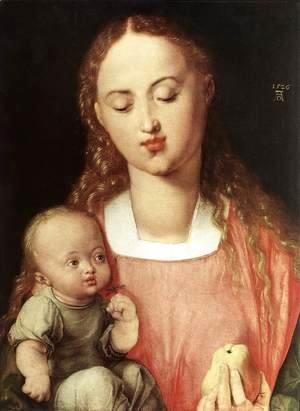 Madonna and Child with the Pear 2