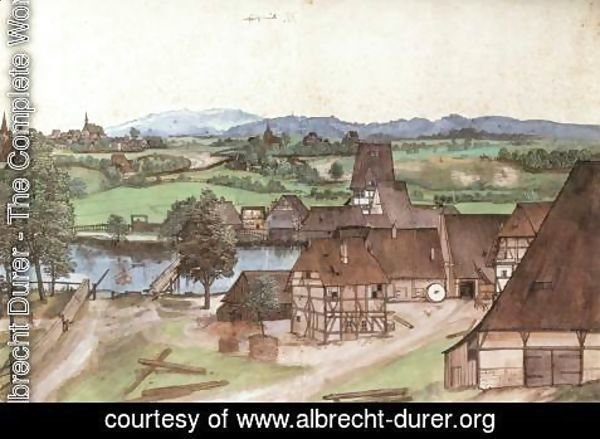 Albrecht Durer - The Wire-drawing Mill