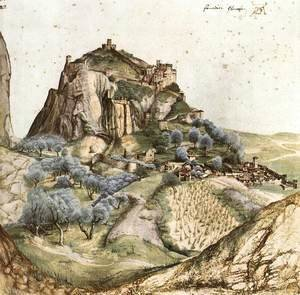 Albrecht Durer - View of Arco 2