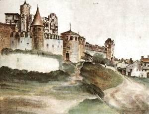 Albrecht Durer - The Castle at Trento 2