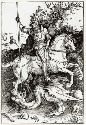 Albrecht Durer - St. George killing the Dragon