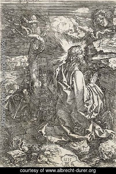 Albrecht Durer - The Agony in the Garden