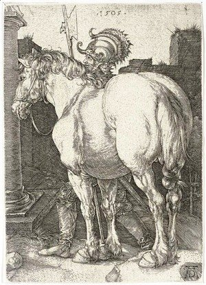 Albrecht Durer - The Large Horse 2