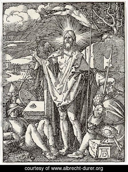 The Resurrection, from The Small Woodcut Passion