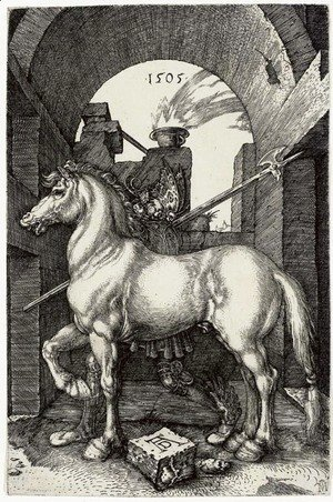 Albrecht Durer - The Small Horse 2