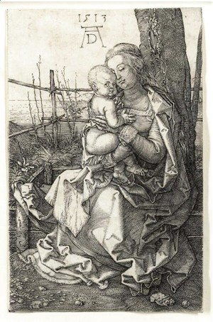 The Virgin and Child seated by a Tree