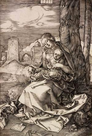 The Virgin and Child with a Pear