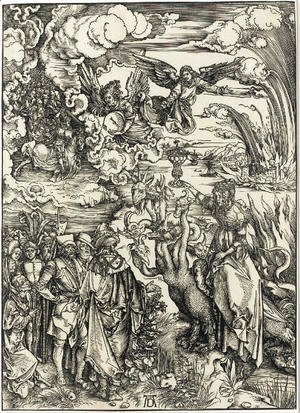 Albrecht Durer - The Whore of Babylon, from The Apocalypse
