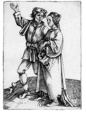 Albrecht Durer - The Peasant and his Wife