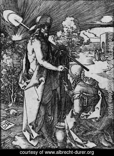 Albrecht Durer - Noli Me Tangere, from The Little Passion