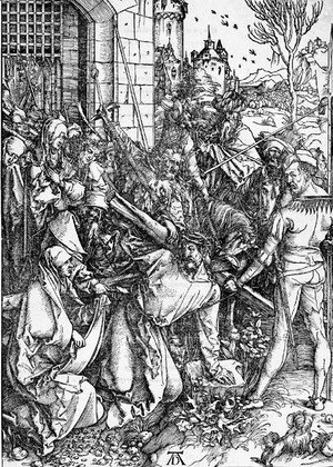 Albrecht Durer - Christ carrying the Cross, from The Large Passion