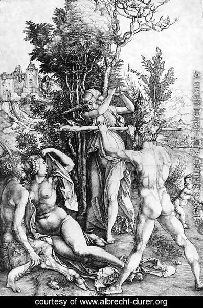 Albrecht Durer - Hercules, or the Effects of Jealousy