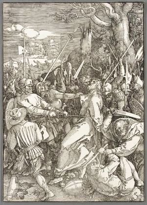 Albrecht Durer - The Kiss Of Judas