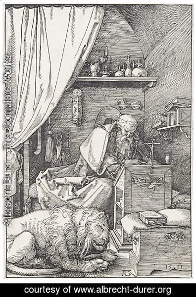 St Jerome In His Cell
