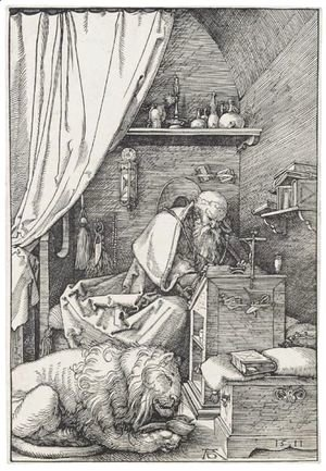 Albrecht Durer - St Jerome In His Cell