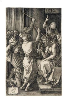 Albrecht Durer - Christ Before Caiaphas 3