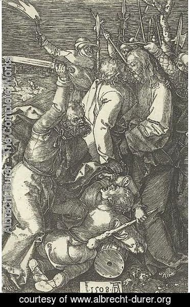 Albrecht Durer - The Betrayal Of Christ