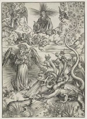 Albrecht Durer - The Apocalyptic Woman
