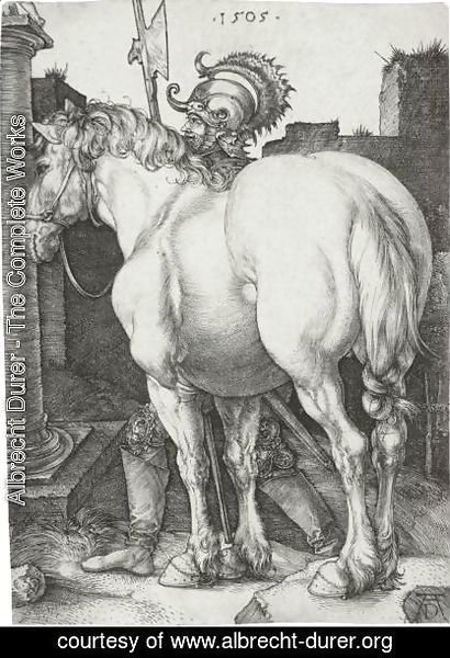 Albrecht Durer - The Large Horse 3