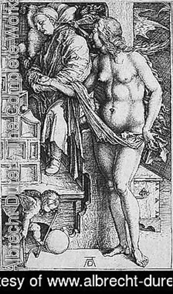 Albrecht Durer - The dream of the doctor