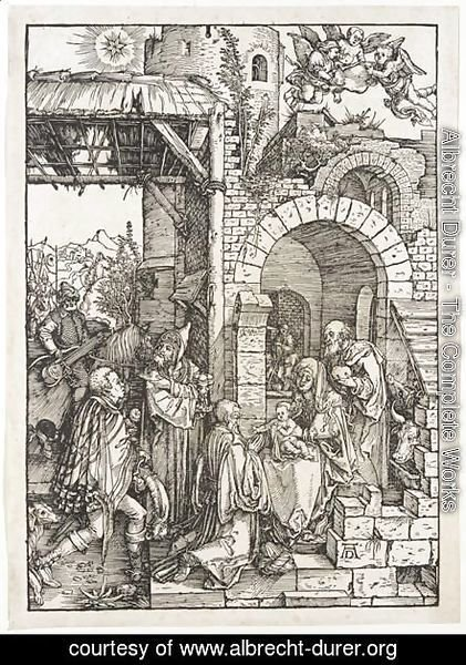 Albrecht Durer - The Adoration Of The Magi 2