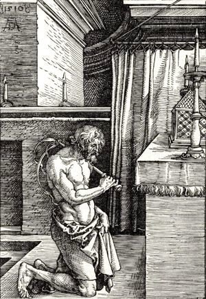 Albrecht Durer - King David Doing Penance