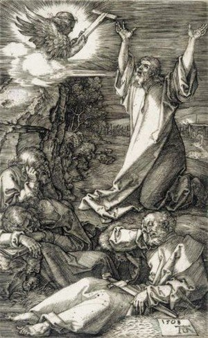 Albrecht Durer - Christ On The Mount Of Olives 3