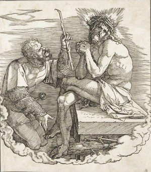 Albrecht Durer - The Man Of Sorrows Mocked By A Soldier 2
