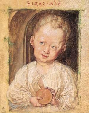Albrecht Durer - Boy with a globe