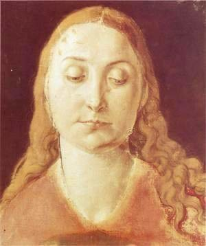 Albrecht Durer - Head of Mary