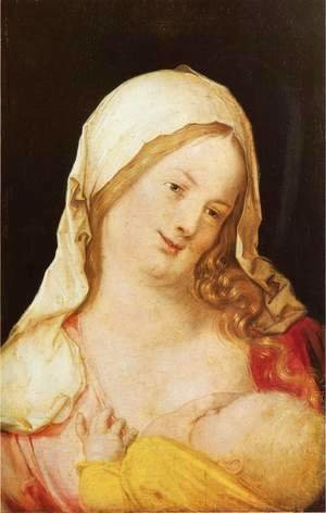 Albrecht Durer - Madonna and Child