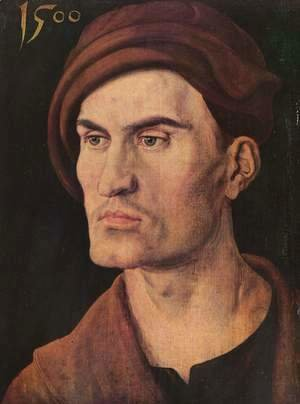 Albrecht Durer - Portrait of a young man 6
