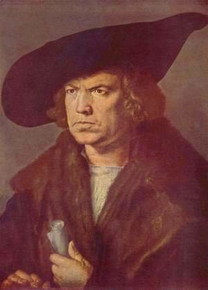 Albrecht Durer - Portrait of an unknown