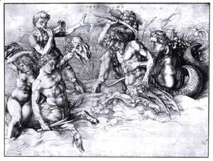 Albrecht Durer - Battle of the Sea Gods