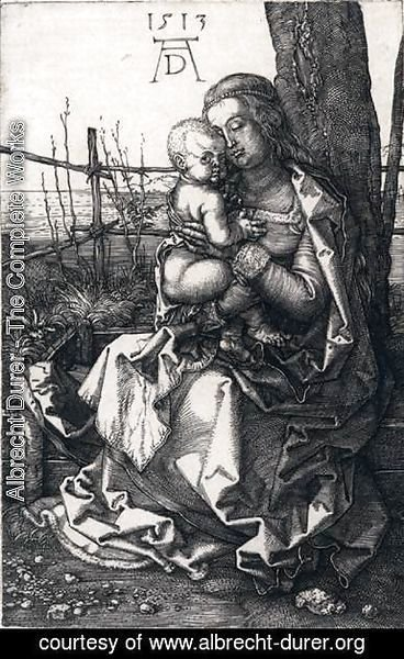 Albrecht Durer - Virgin and Child by a Tree
