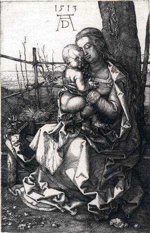 Virgin and Child by a Tree