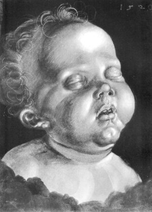 Albrecht Durer - Head of a child