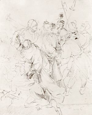 Albrecht Durer - Arrest of Christ