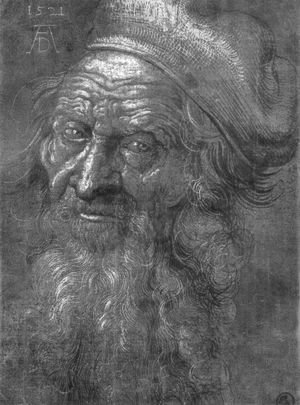 Albrecht Durer - Head of an old man 2