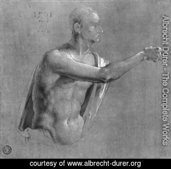 Albrecht Durer - Upper Body of Christ