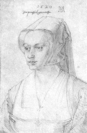 Albrecht Durer - Portrait of a woman from Brussels