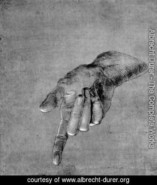 Albrecht Durer - Right Hand of an Apostle