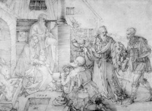 Albrecht Durer - Adoration of the Magi 4