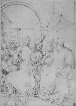 Albrecht Durer - Christ before Caiaphas 4