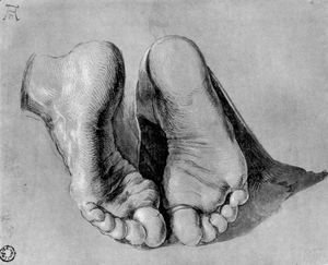 Albrecht Durer - Feet of an apostle