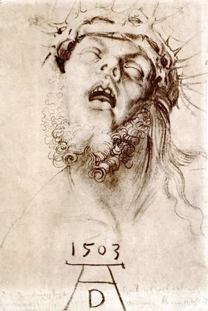Albrecht Durer - The dead Christ with the crown of thorns